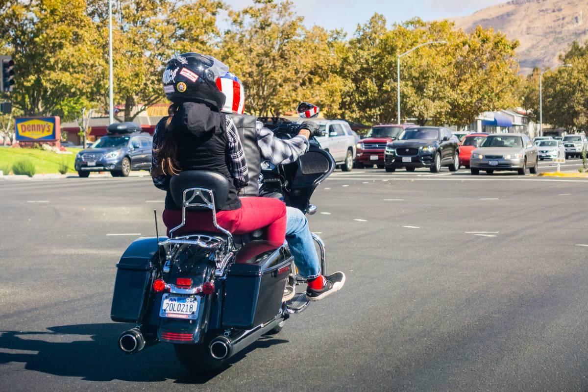 Moto taxi pour gagner de temps